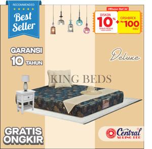 Harga central spring bed deluxe matras kasur only 160 180 200 100 120 x 200   90 | HARGALOKA.COM