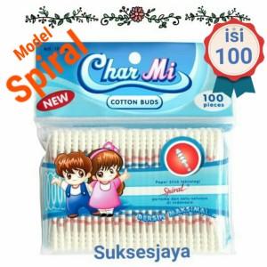 Harga Huki Cotton Buds Regular 100 Sticks Cotton Bud Pembersih Telinga Katalog.or.id