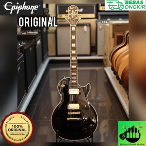 Harga gitar elektrik original epiphone les paul custom | HARGALOKA.COM