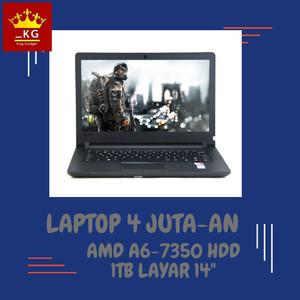 Harga laptop 4 juta an lenovo e41 45 amd a6 7350 4gb 1tb windows ori murah   | HARGALOKA.COM