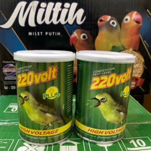 Harga 220 volt pakan burung pleci oriental white eye makanan   HARGALOKA.COM