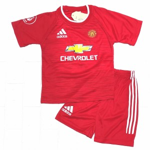 Harga setelan baju bola anak mu merah mu abu jersey musim terbaru   mu merah 4 8bln 18bln | HARGALOKA.COM