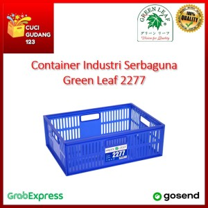 Info Container 2277 Green Leaf Keranjang Industri Serbaguna Lubang Gojek Katalog.or.id