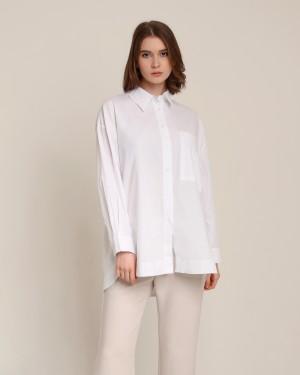 Harga alesya white shirt lizaddict atasan casual formal kemeja putih   putih all | HARGALOKA.COM