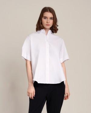 Harga keiza white shirt lizaddict atasan casual formal kemeja putih   putih all | HARGALOKA.COM