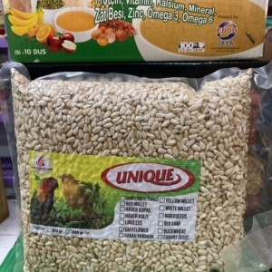 Harga biji safflower seed kuaci putih 1kg lovebird kenari burung kicau | HARGALOKA.COM