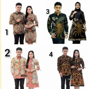 Harga batik couple keluarga baju batik couple sarimbit   | HARGALOKA.COM