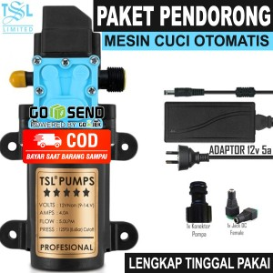 Harga paket pompa air dc pendorong mesin cuci tekanan tinggi otomatis murah   tsl   HARGALOKA.COM