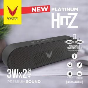 Harga vyatta platinum hitz tws speaker   stereo bluetooth usb tf mega | HARGALOKA.COM