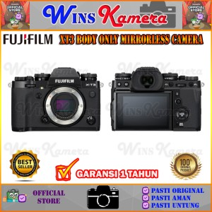Harga fujifilm x t3 xt3 body only mirrorless digital camera original   standard | HARGALOKA.COM