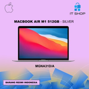 Harga macbook air m1 512gb   silver mgna31d | HARGALOKA.COM