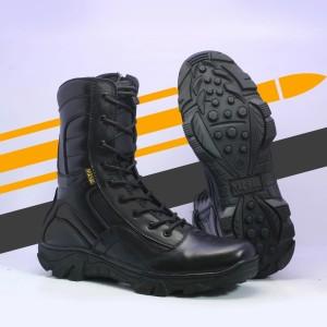 Harga sepatu pdl tni polri model rjr terbaru kulit asli merk misil   | HARGALOKA.COM
