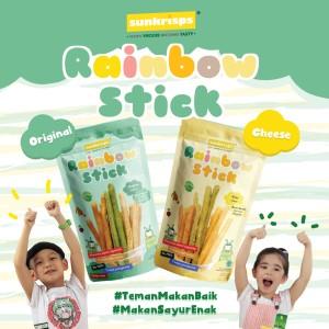 Harga sunkrisps rainbow stick original dan cheese snack anak bayi 50gr   | HARGALOKA.COM