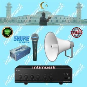 Harga paket toa masjid atau mushola sound system berkah i | HARGALOKA.COM