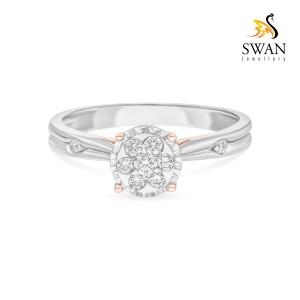 Harga cincin berlian imlr906913 swan jewellery   | HARGALOKA.COM