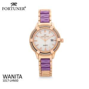 Harga fortuner jam tangan analog wanita rosegold water resistant | HARGALOKA.COM