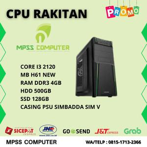 Harga komputer rakitan core i3 2120 4gb hdd 500gb ssd | HARGALOKA.COM