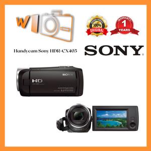 Harga handycam sony hdr cx405   unit | HARGALOKA.COM