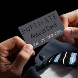 Harga jasa duplikat kartu akses apartemen kantor | HARGALOKA.COM