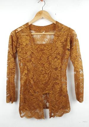 Harga kebaya kutu baru atasan baju bali brukat wanita modern murah grosir   tembaga | HARGALOKA.COM