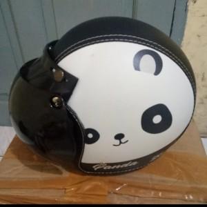 Harga helm bogo kulit anak panda umur 3 10   HARGALOKA.COM