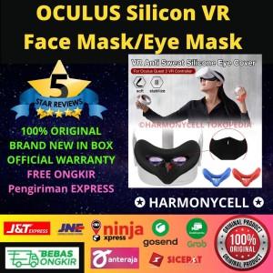 Harga oculus quest 2 silicon vr cover face mask eye mask   | HARGALOKA.COM
