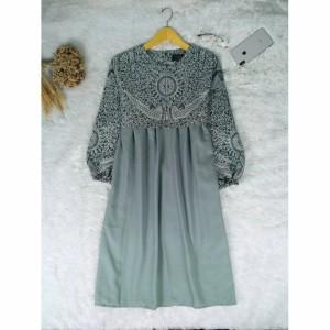 Harga blouse wanita semara atasan batik wanita terbaru   grey abu abu | HARGALOKA.COM