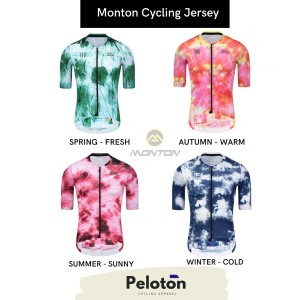 Harga monton baju sepeda 2021 cycling jersey monton 100 original gowes   spring wanita   HARGALOKA.COM