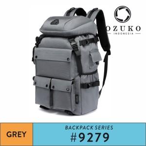 Harga tas backpack pria ozuko 9279 tas ransel travel weekender cowok   | HARGALOKA.COM