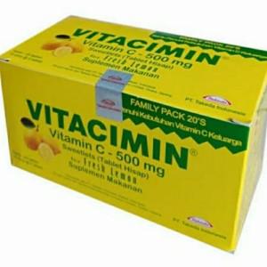 Harga vitacimin 1 box isi 20 tablet rasa | HARGALOKA.COM