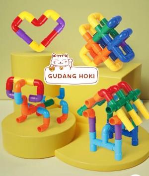 Harga lego block pipa mainan edukatif puzzle lego mainan anak lego   HARGALOKA.COM