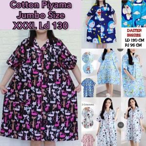 Harga piyama jumbo wanita baju tidur dress daster katun jepang adem kekinian   cute | HARGALOKA.COM