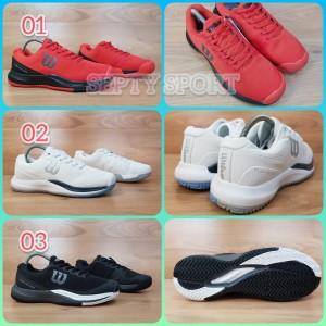Harga sepatu wilson tennis rush pro 3 0 wilson tenis rush pro   03 black | HARGALOKA.COM