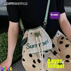Harga tas selempang serut wanita bucket kecil cantik fashion terbaru   | HARGALOKA.COM