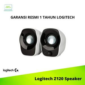 Harga logitech z120 mini stereo speaker laptop pc komputer | HARGALOKA.COM