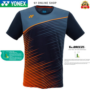 Harga kaos badminton jersey yonex 1699 coc vibrant orange 100 original   m     HARGALOKA.COM