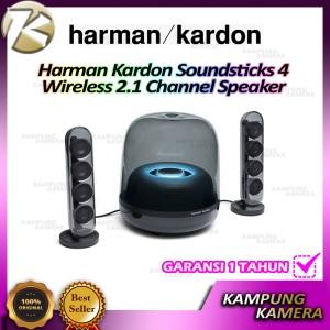 Harga harman kardon soundsticks 4 bluetooth wireless 2 1 channel speaker   | HARGALOKA.COM
