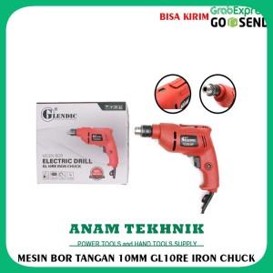 Harga promo termurah mesin bor listrik bor tangan 10mm glendic | HARGALOKA.COM