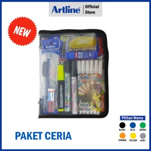 Harga paket alat tulis artline paket ceria | HARGALOKA.COM