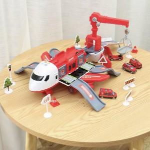 Harga jumbo transport cargo airplane vehicle pesawat terbang mainan anak   | HARGALOKA.COM