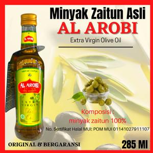 Harga minyak zaitun asli al arobi jaitun olive oil 285ml extra | HARGALOKA.COM