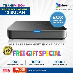 Harga transvision xstream   free 12 bulan live tv | HARGALOKA.COM