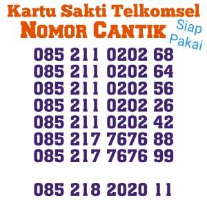 Harga kartu sakti telkomsel internet murah telpon murah nomor cantik   HARGALOKA.COM