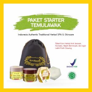Harga paket starter temulawak skincare roromendut untuk kulit | HARGALOKA.COM