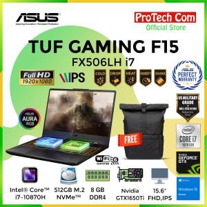 Harga asus tuf gaming f15 fx506lh i7 10750h 8gb 512gb gtx1650 4gb w10 | HARGALOKA.COM