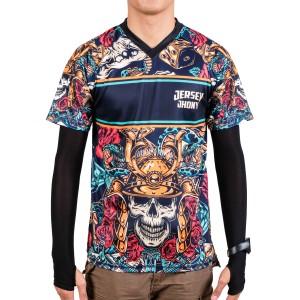 Harga jersey sepeda jersey gowes kaos sepeda samurai jerjhon   | HARGALOKA.COM