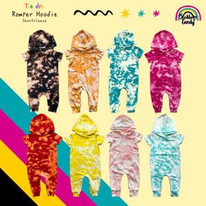 Harga jumper hoodie black tie dye shortsleeve bayi anak   salmon | HARGALOKA.COM