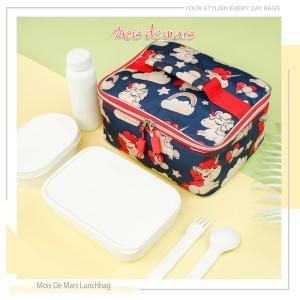 Harga lunch bag mois de mars dengan aluminum foil inner liner animal style   unicorn d | HARGALOKA.COM