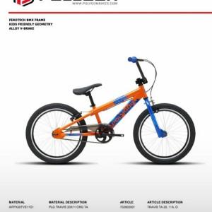 Harga sepeda bmx 20 polygon travis   | HARGALOKA.COM