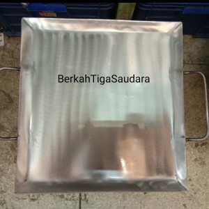 Harga wajan roti bakar kebab burger plat besi ukuran 40 x 40 | HARGALOKA.COM